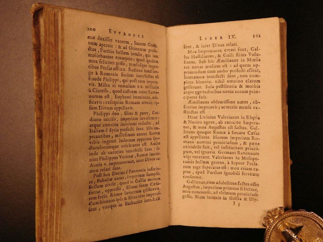 1672 Eutropius Breviarium History ROME Valens Pagan - 7