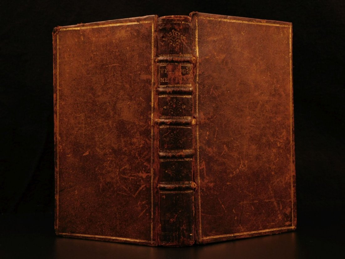 1749 Queen Elizabeth Walter Raleigh Memoirs