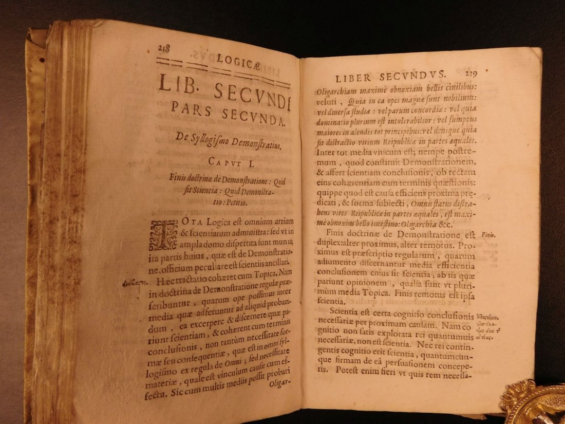 1639 Elements of LOGIC + Fortune Telling Prophecy - 9
