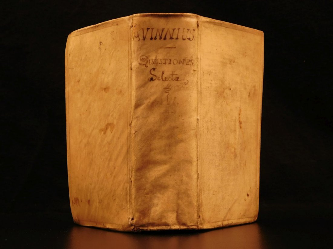 1672 Dutch LAW Commentary Jurisprudence Latin Letters