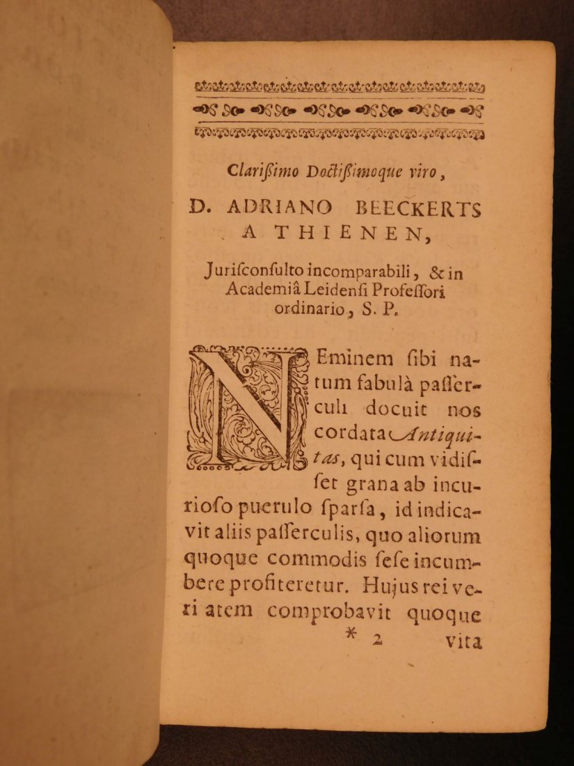 1672 Dutch LAW Commentary Jurisprudence Latin Letters - 4
