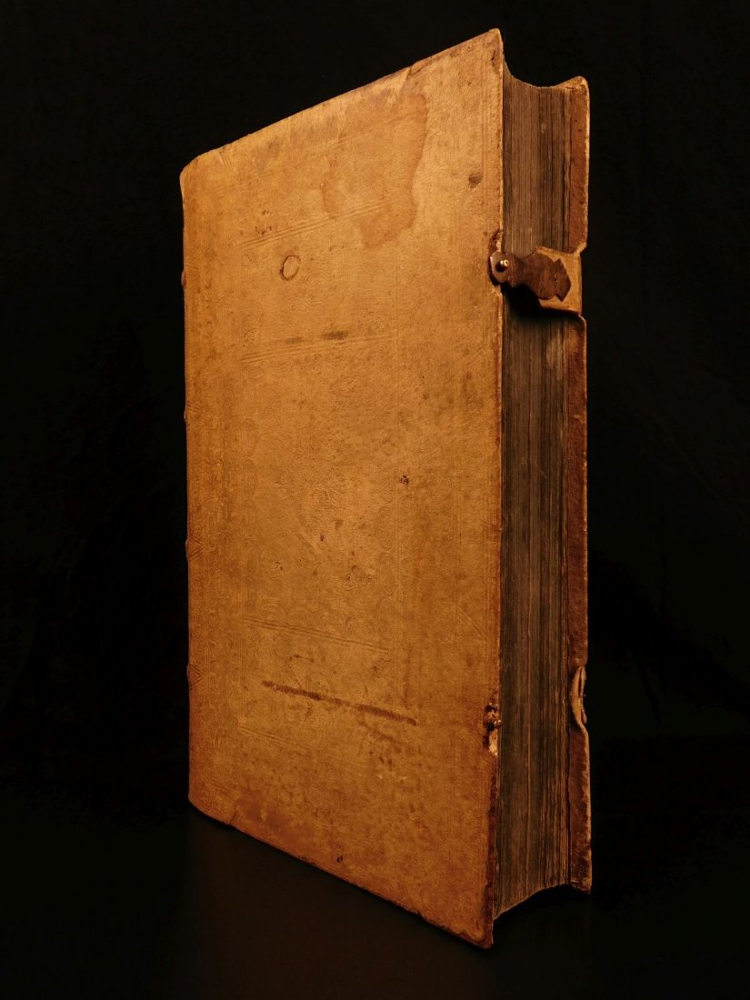 1731 HUGE FOLIO Church Fathers Aurifodina Universalis - 2
