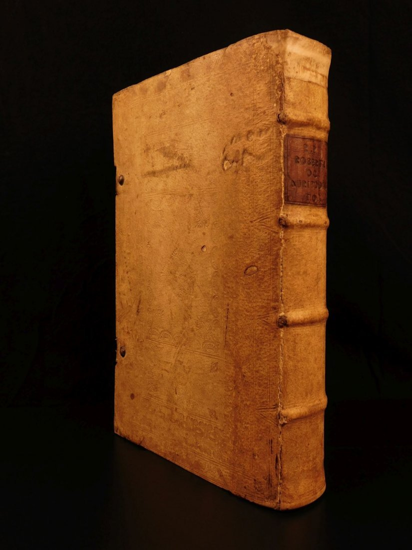 1731 HUGE FOLIO Church Fathers Aurifodina Universalis - 3