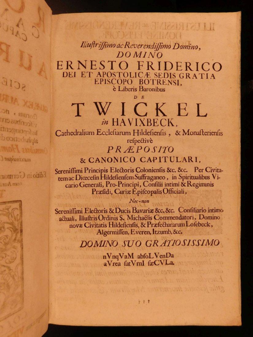 1731 HUGE FOLIO Church Fathers Aurifodina Universalis - 7