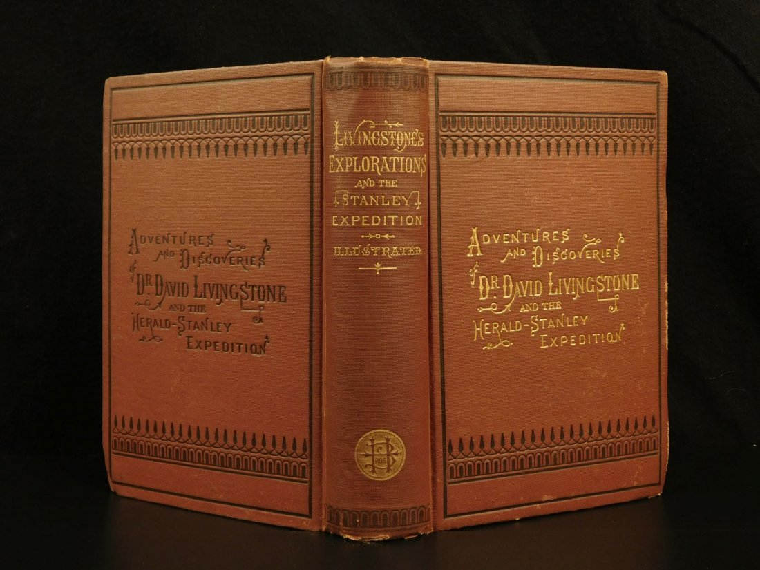 1872 David Livingstone South AFRICA Missionary Voyage