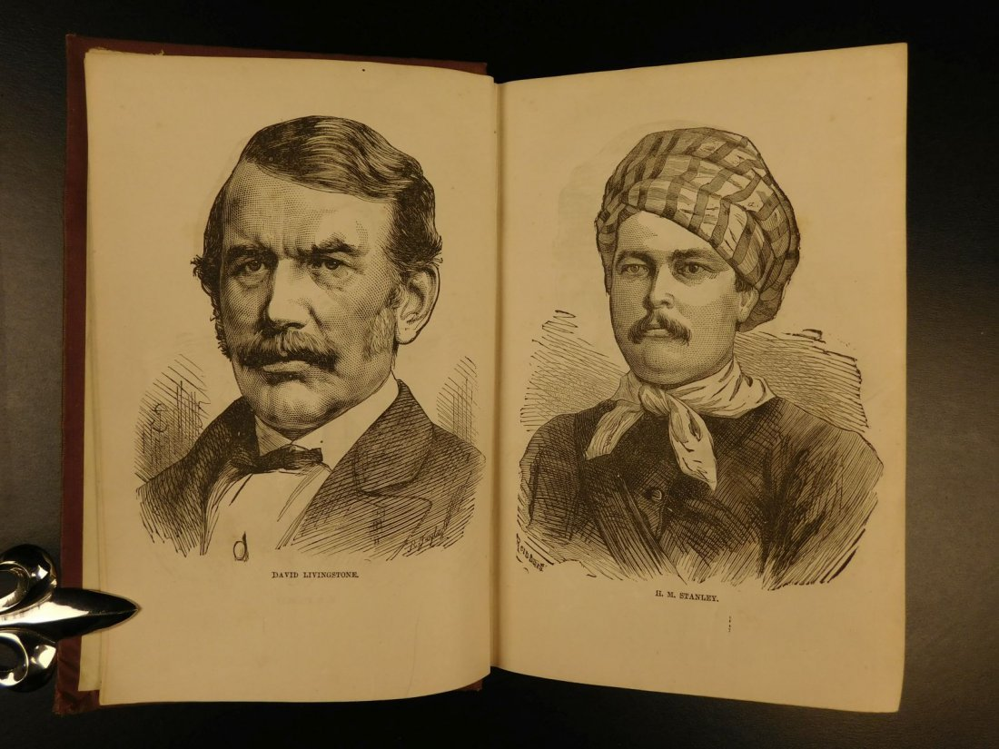 1872 David Livingstone South AFRICA Missionary Voyage - 3
