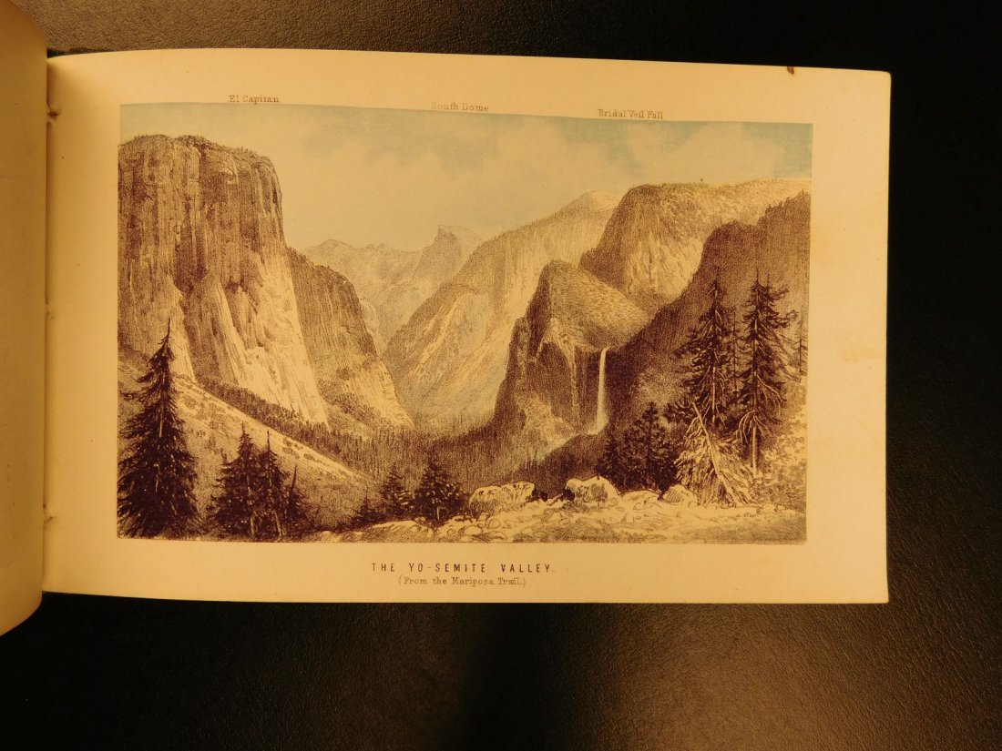 1870 Union Pacific Railroad Guide Color Illustrated - 5