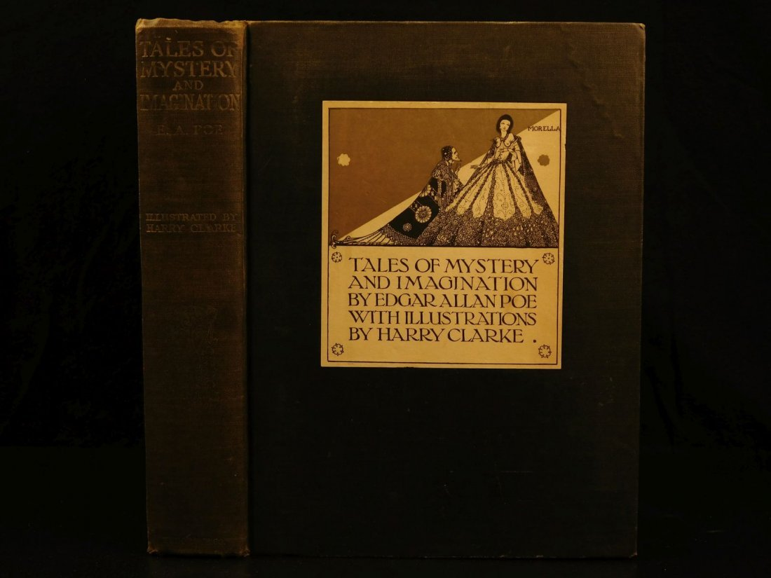 1933 1st ed Edgar Allen Poe Tales of Mystery Clarke Ill
