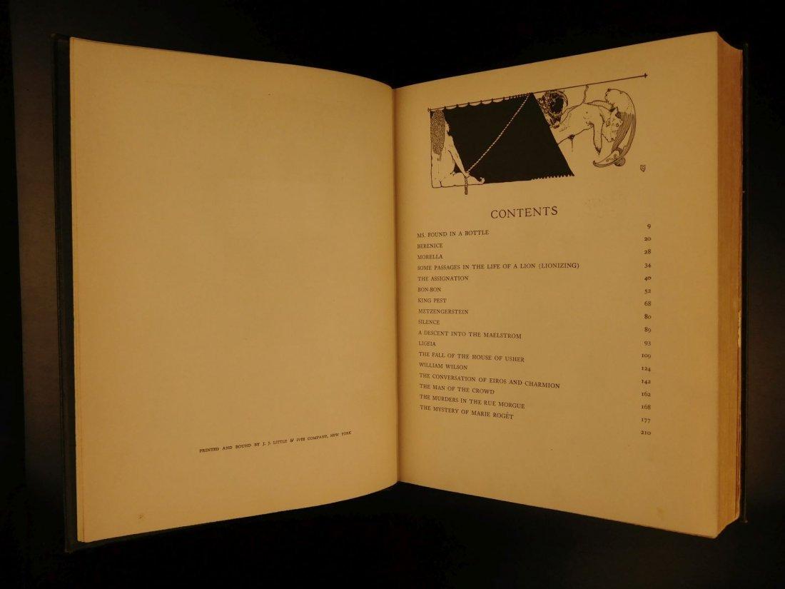 1933 1st ed Edgar Allen Poe Tales of Mystery Clarke Ill - 3