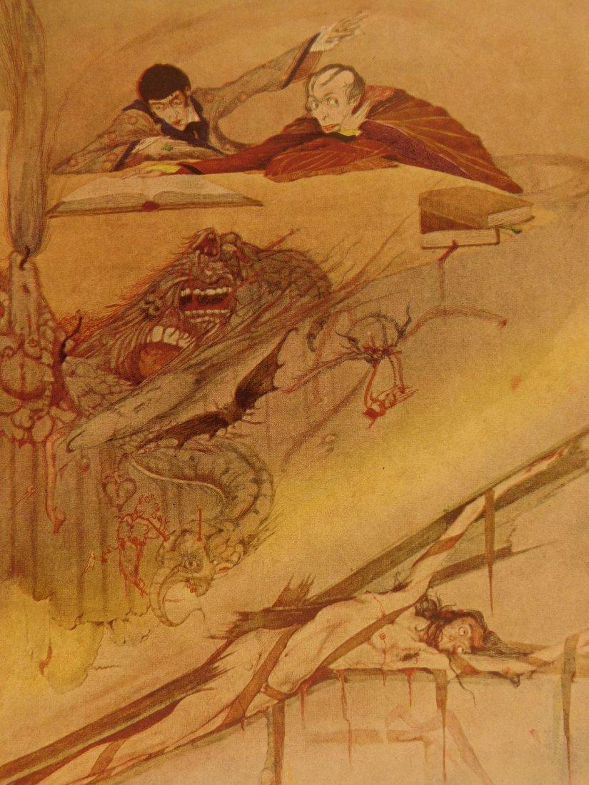 1933 1st ed Edgar Allen Poe Tales of Mystery Clarke Ill - 7
