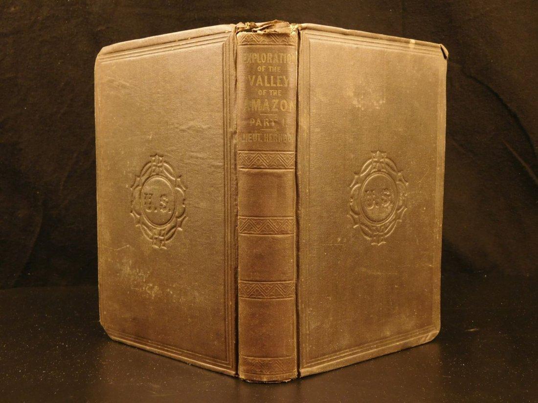 1853 Exploration of Amazon Valley Brazil Navy Voyages
