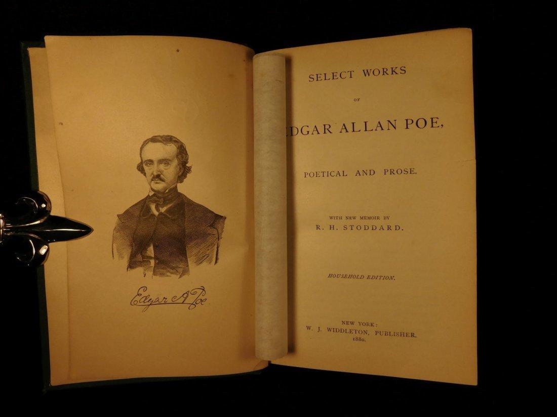 1880 Edgar Allan Poe Illustrated The Raven Bells OCCULT - 2
