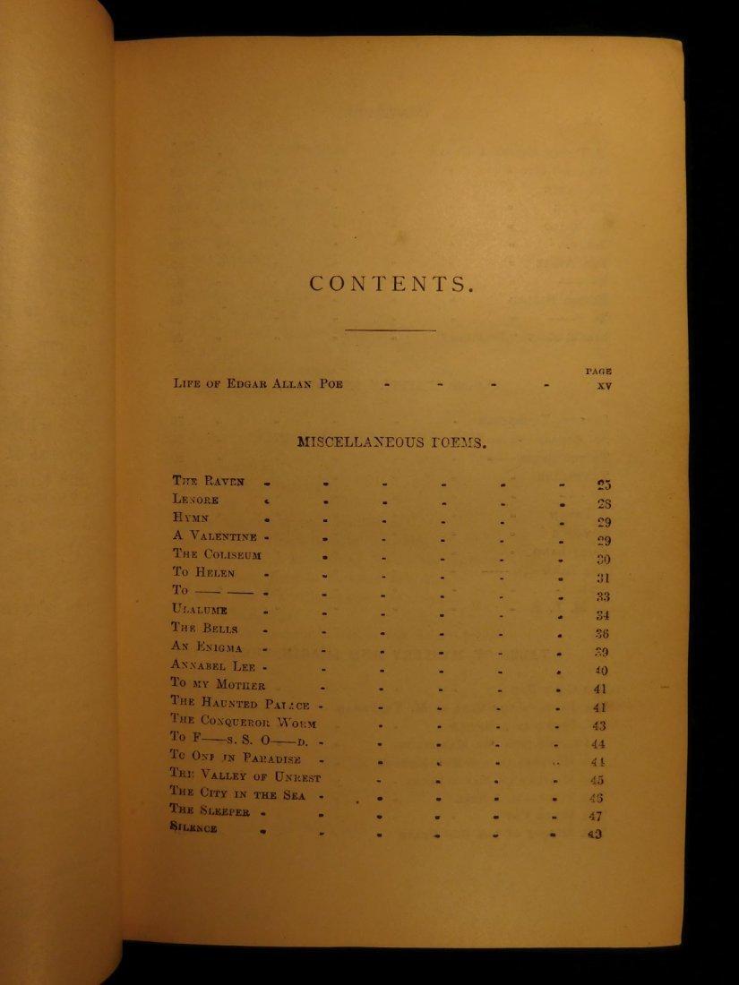 1880 Edgar Allan Poe Illustrated The Raven Bells OCCULT - 4