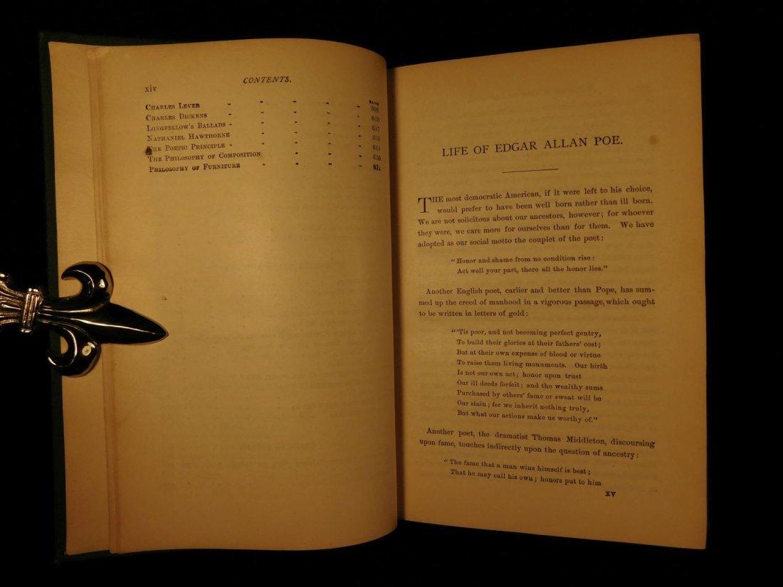 1880 Edgar Allan Poe Illustrated The Raven Bells OCCULT - 6