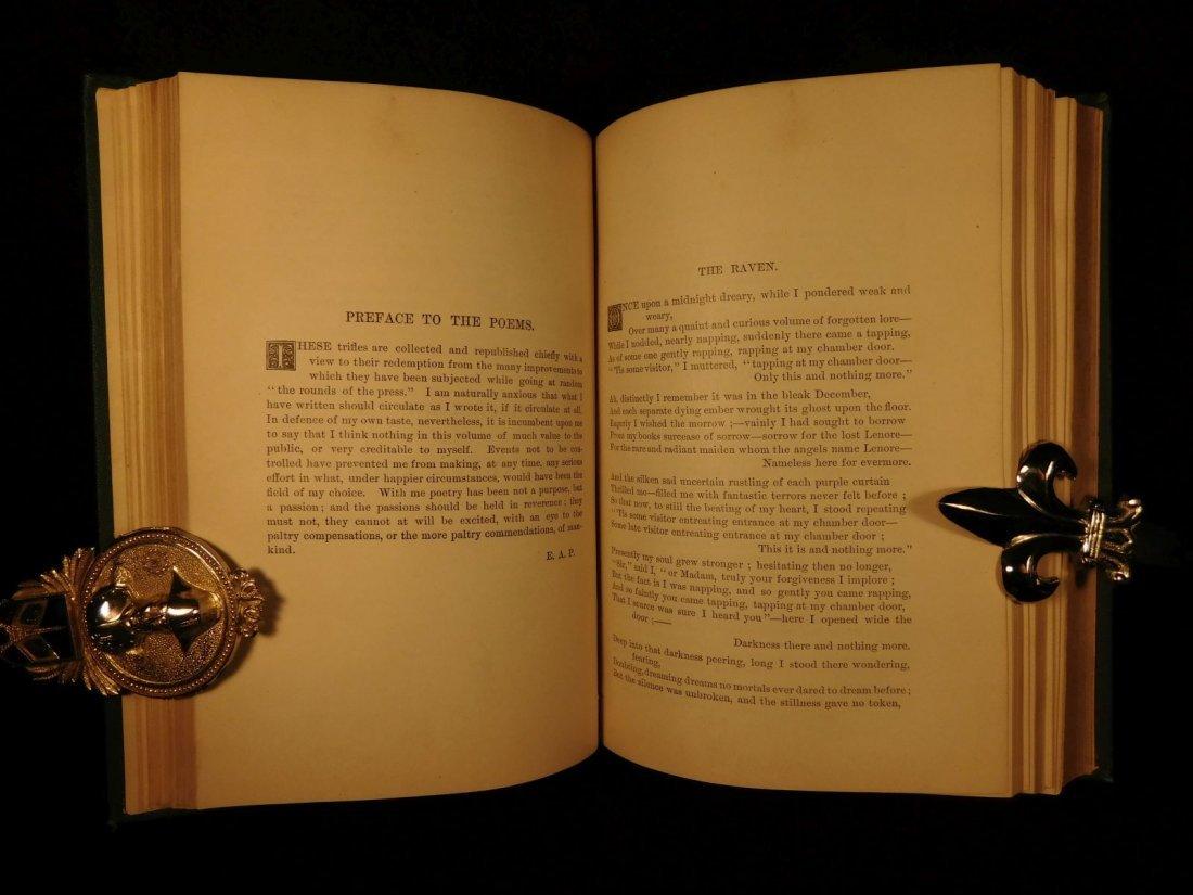 1880 Edgar Allan Poe Illustrated The Raven Bells OCCULT - 7