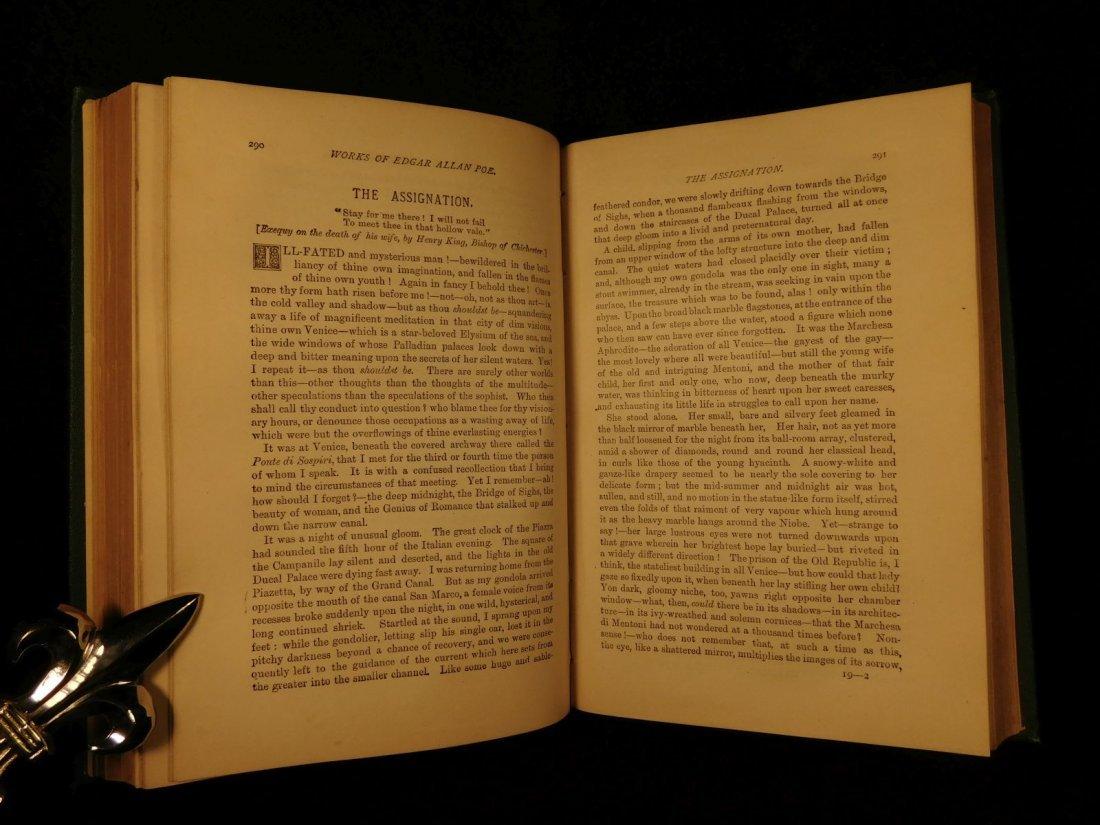 1880 Edgar Allan Poe Illustrated The Raven Bells OCCULT - 9