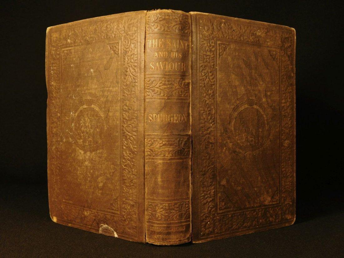 1858 Charles Spurgeon Saint & His Savior Puritan