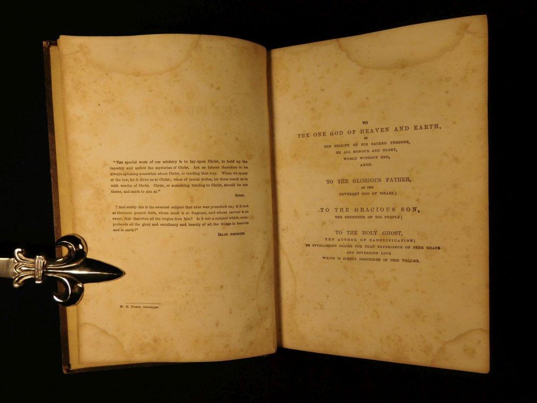 1858 Charles Spurgeon Saint & His Savior Puritan - 3