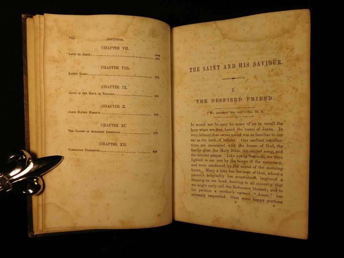 1858 Charles Spurgeon Saint & His Savior Puritan - 6