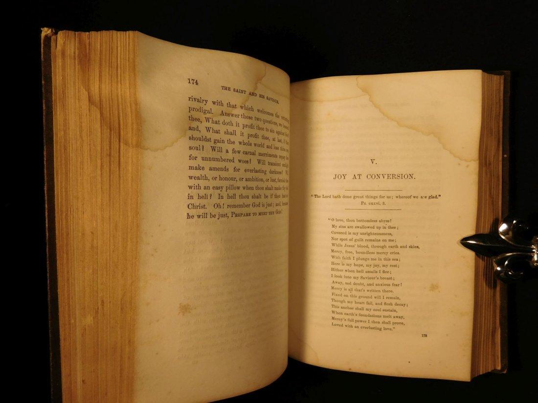 1858 Charles Spurgeon Saint & His Savior Puritan - 8