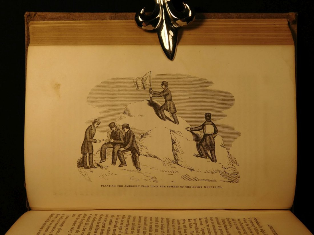 1856 Life of John C Fremont Illustrated American Report - 6