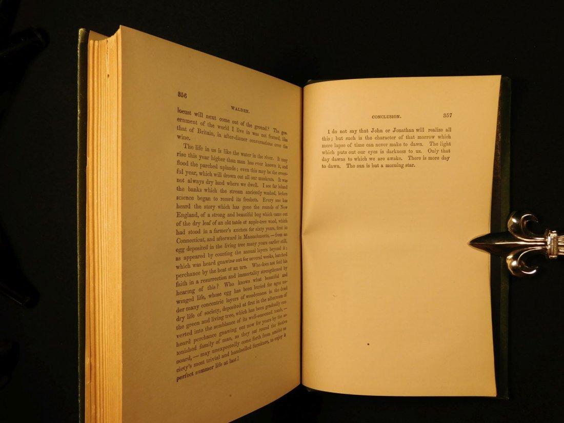 1885 WALDEN by Henry David Thoreau Massachusetts - 10