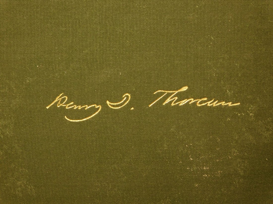 1885 WALDEN by Henry David Thoreau Massachusetts - 2
