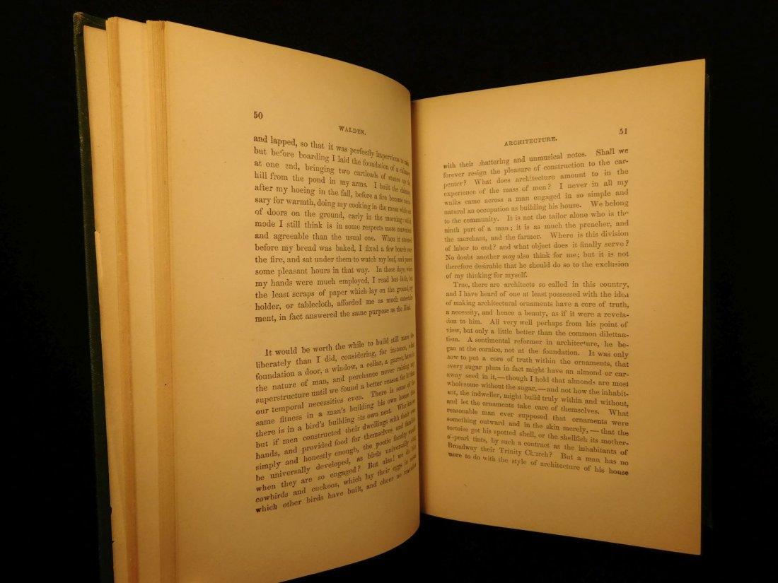 1885 WALDEN by Henry David Thoreau Massachusetts - 6