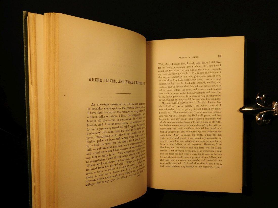 1885 WALDEN by Henry David Thoreau Massachusetts - 8