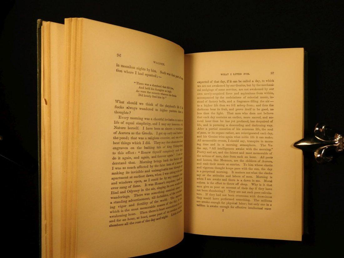 1885 WALDEN by Henry David Thoreau Massachusetts - 9