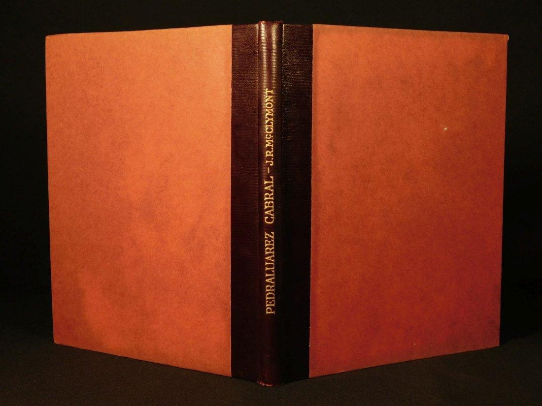 1914 1st ed Pedro Alvarez Cabral Voyages America India