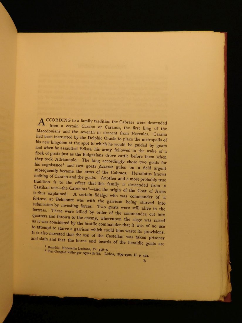 1914 1st ed Pedro Alvarez Cabral Voyages America India - 3