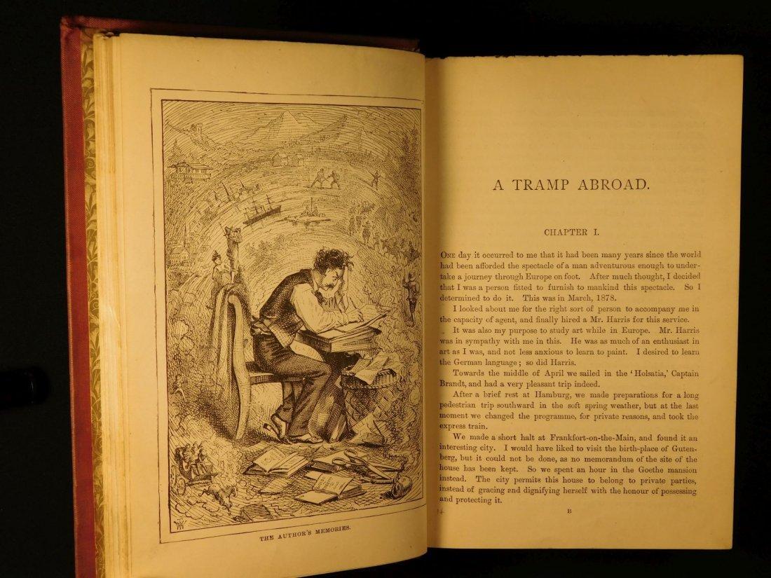 1882 1st ed UK A Tramp Abroad Mark Twain Travel - 3