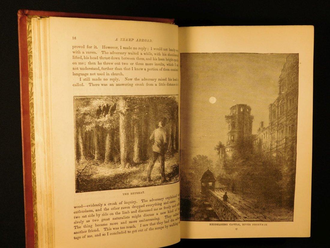 1882 1st ed UK A Tramp Abroad Mark Twain Travel - 7