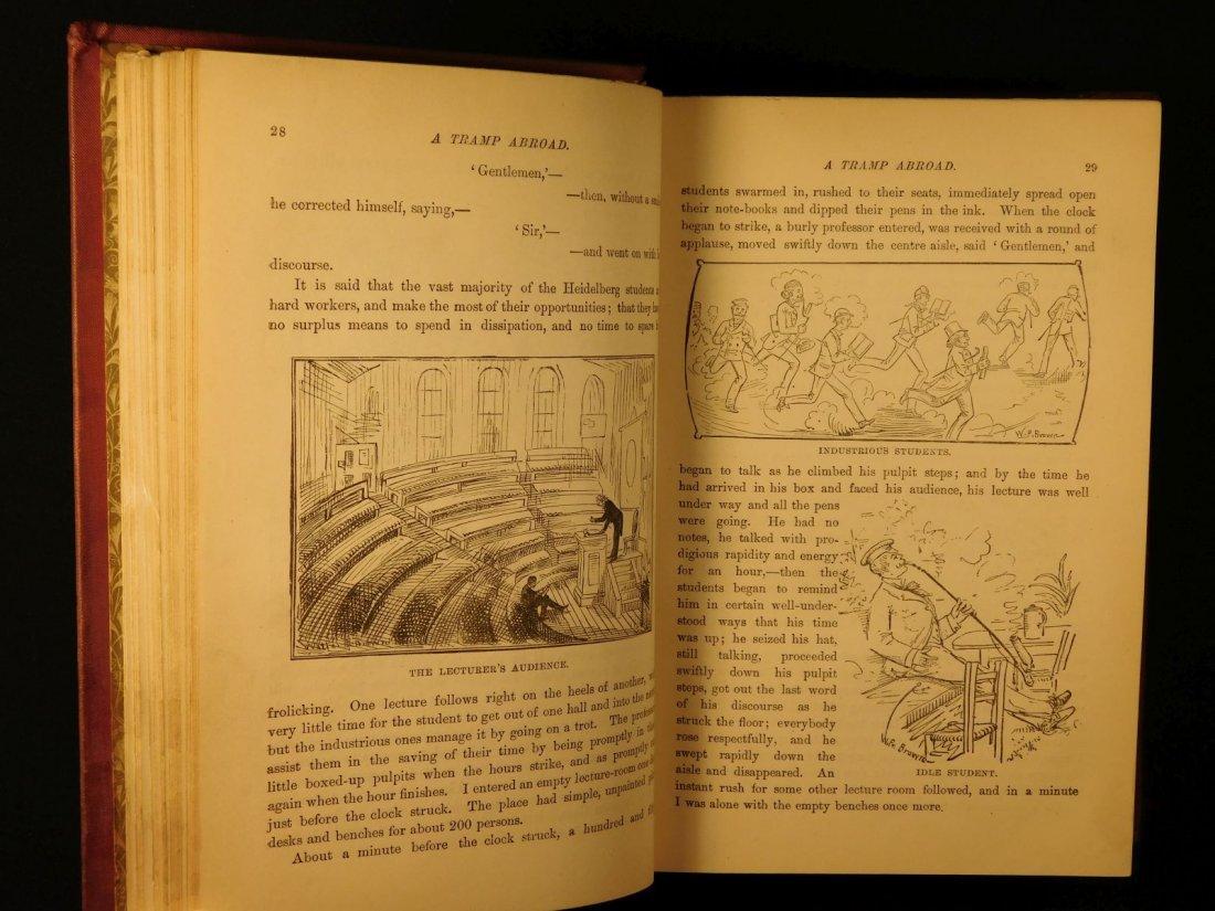 1882 1st ed UK A Tramp Abroad Mark Twain Travel - 8