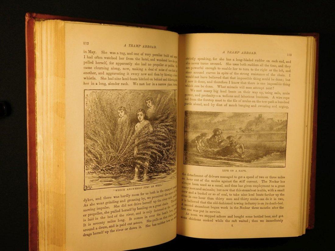 1882 1st ed UK A Tramp Abroad Mark Twain Travel - 9