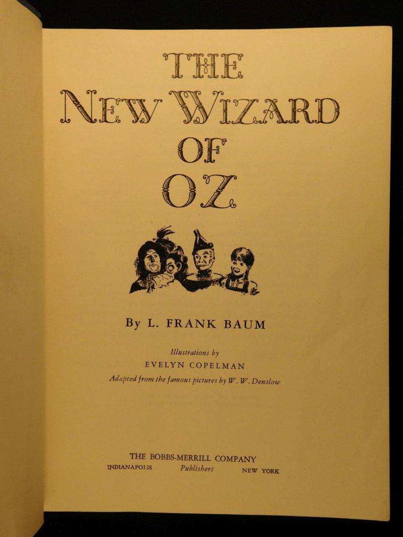 1944 WIZARD of OZ Baum Illustrated Copelman Fantasy - 3