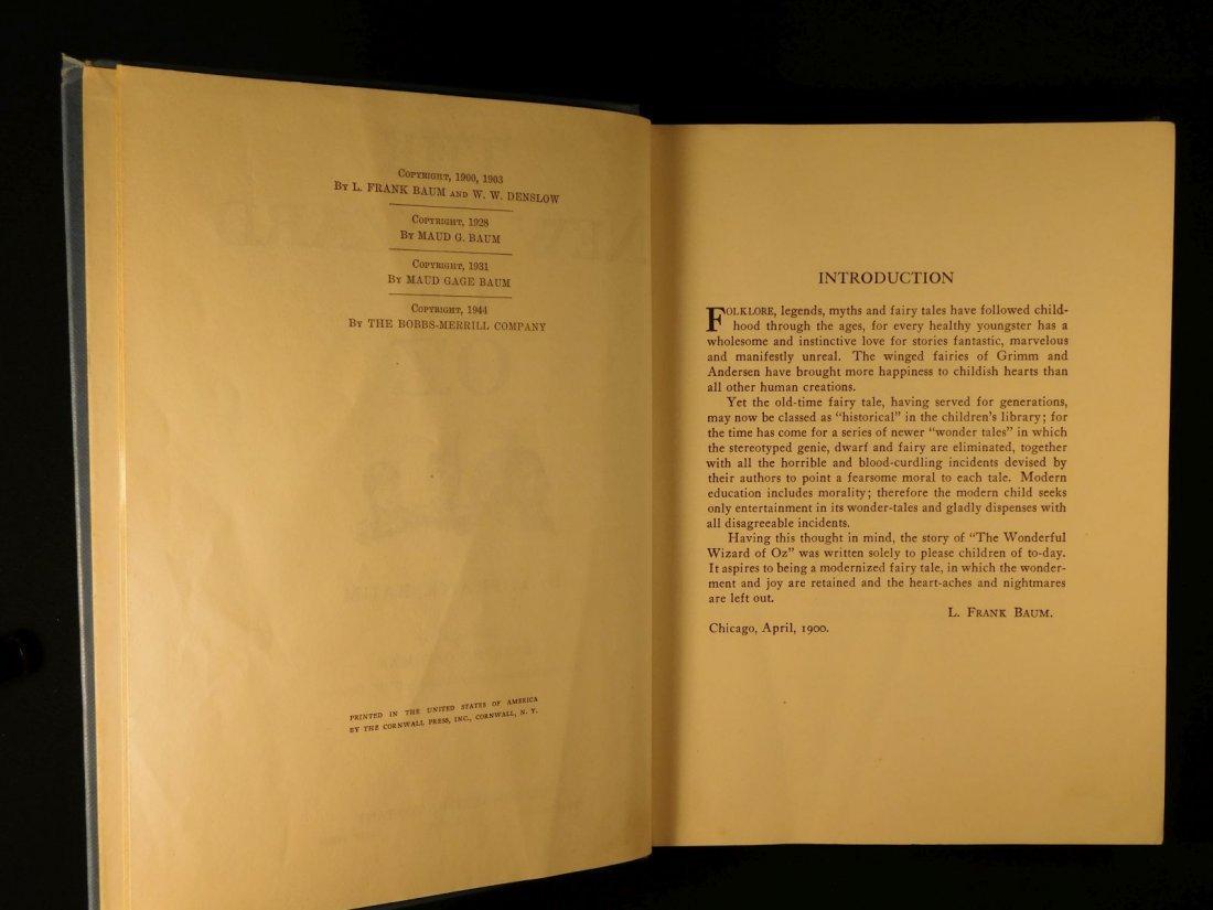 1944 WIZARD of OZ Baum Illustrated Copelman Fantasy - 4