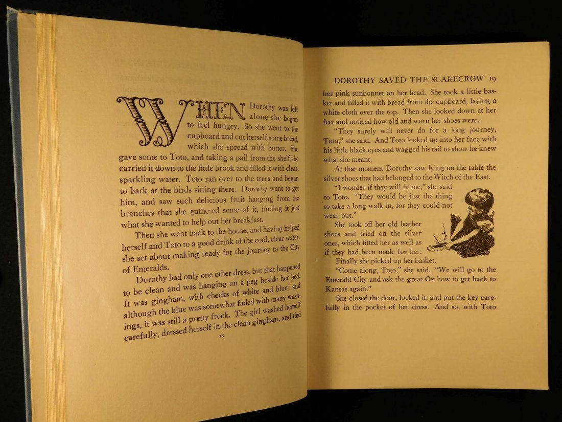 1944 WIZARD of OZ Baum Illustrated Copelman Fantasy - 8