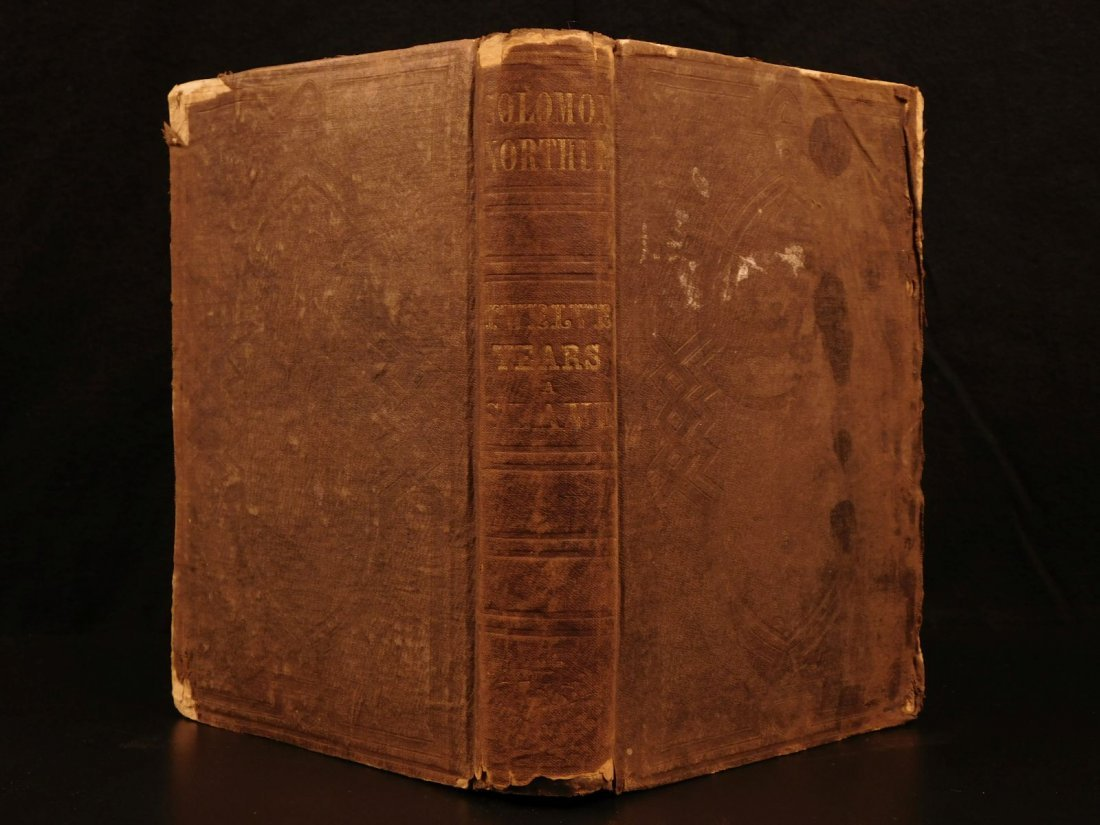 1853 1ed 12 Years a Slave Solomon Northrup Slavery