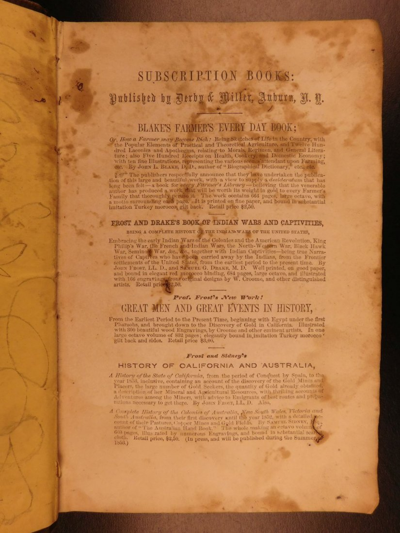 1853 1ed 12 Years a Slave Solomon Northrup Slavery - 2