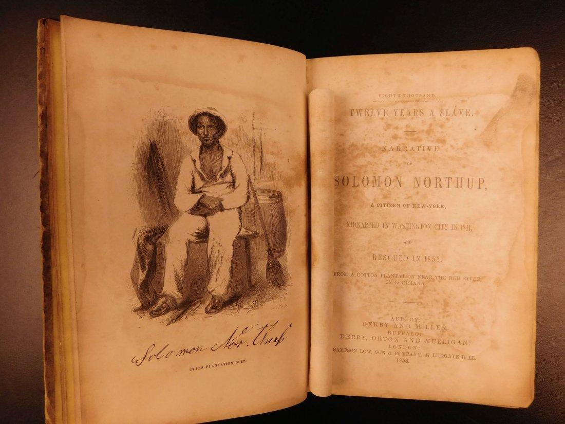 1853 1ed 12 Years a Slave Solomon Northrup Slavery - 3
