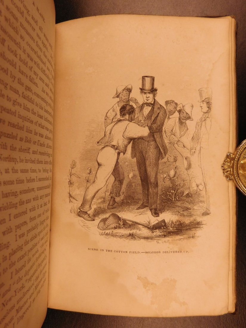 1853 1ed 12 Years a Slave Solomon Northrup Slavery - 9
