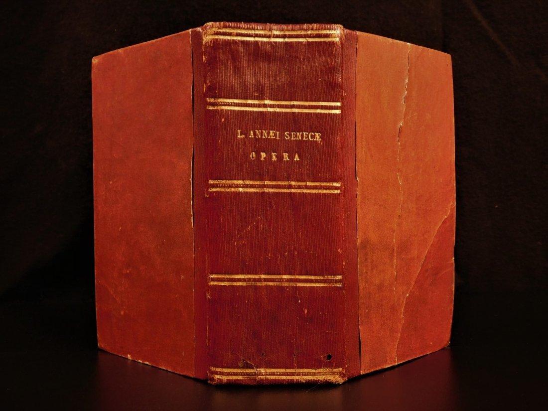 1614 SENECA Stoic Philosophy Stoicism Latin Humanism