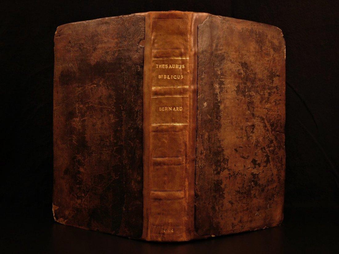 1644 1ed Calvinist Puritan Bible Dictionary Thesaurus