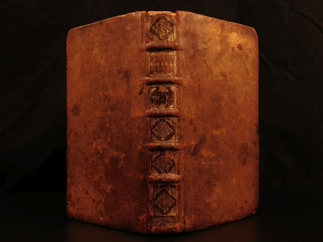 1697 Works of Moliere French Theatre Literature