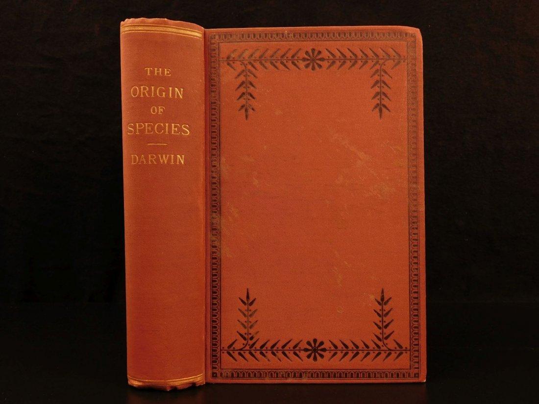 1899 Charles Darwin Origin of Species Evolution