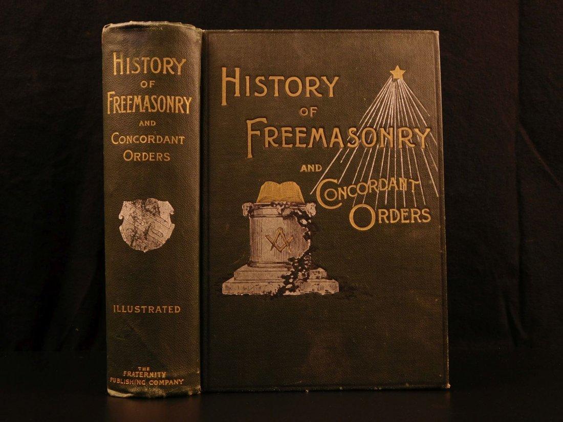 1892 History of Freemasonry Knights Templar Illustrated