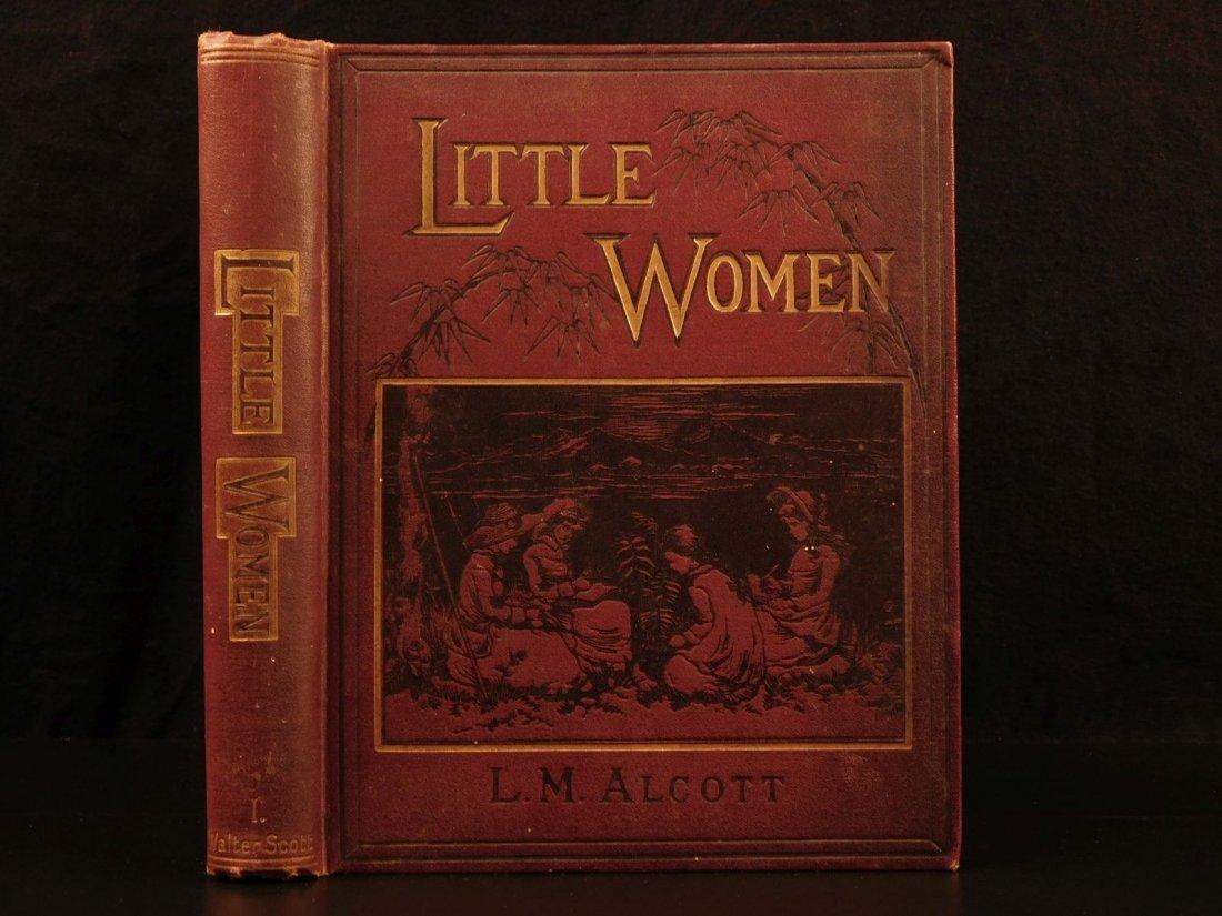 1898 Little Women by Louisa May Alcott Children CLASSIC