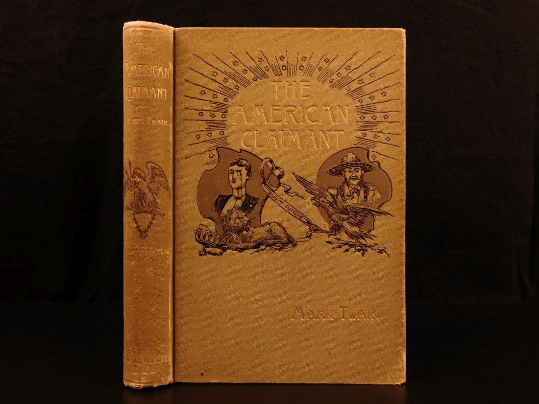 1892 1st/1st Mark Twain American Claimant Samuel